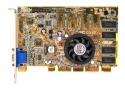 ASUS V6600MX NVidia GeForce256 SDR AGP Pro front