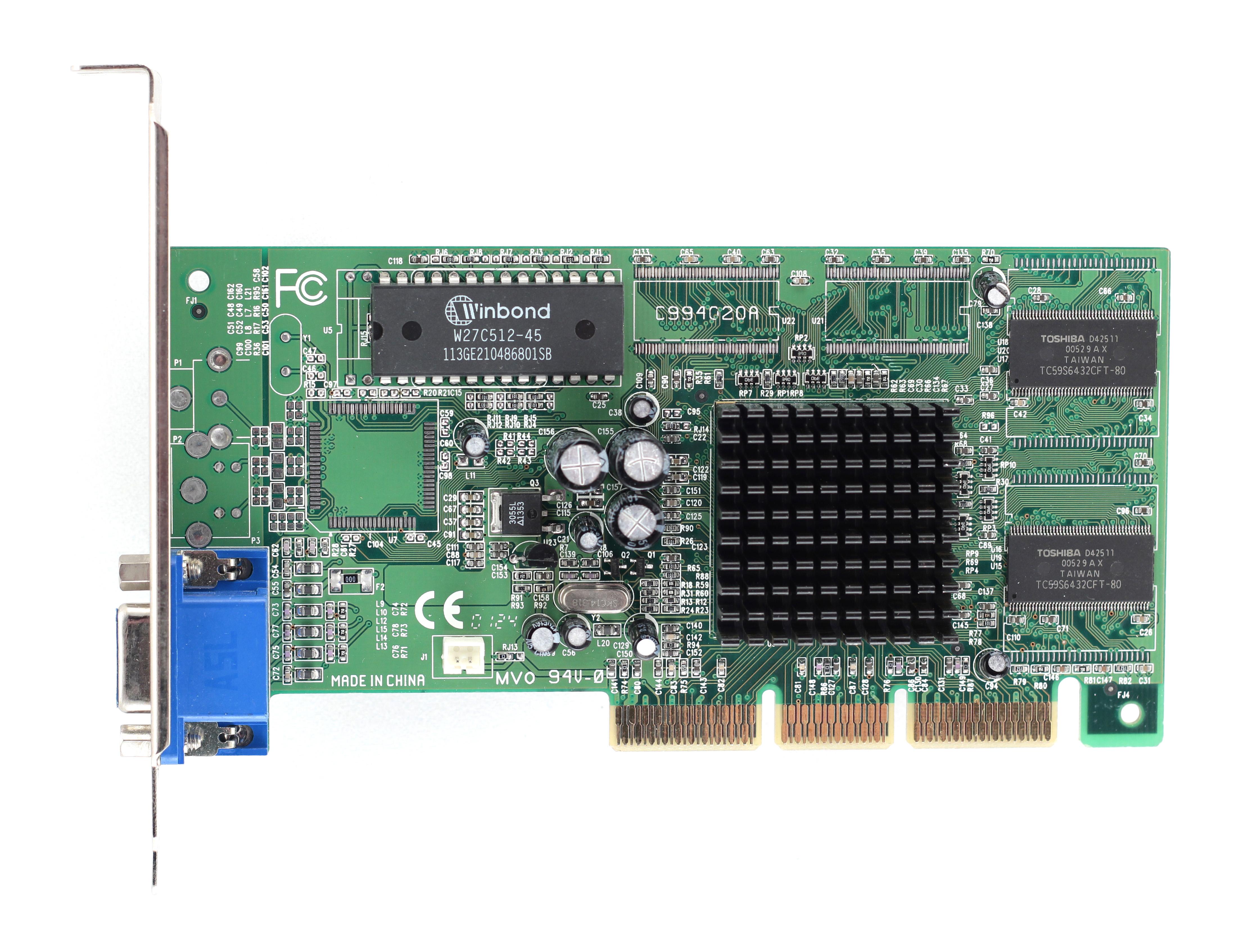 Videocard virtual museum » Diamond Viper V330 PCI (nVidia