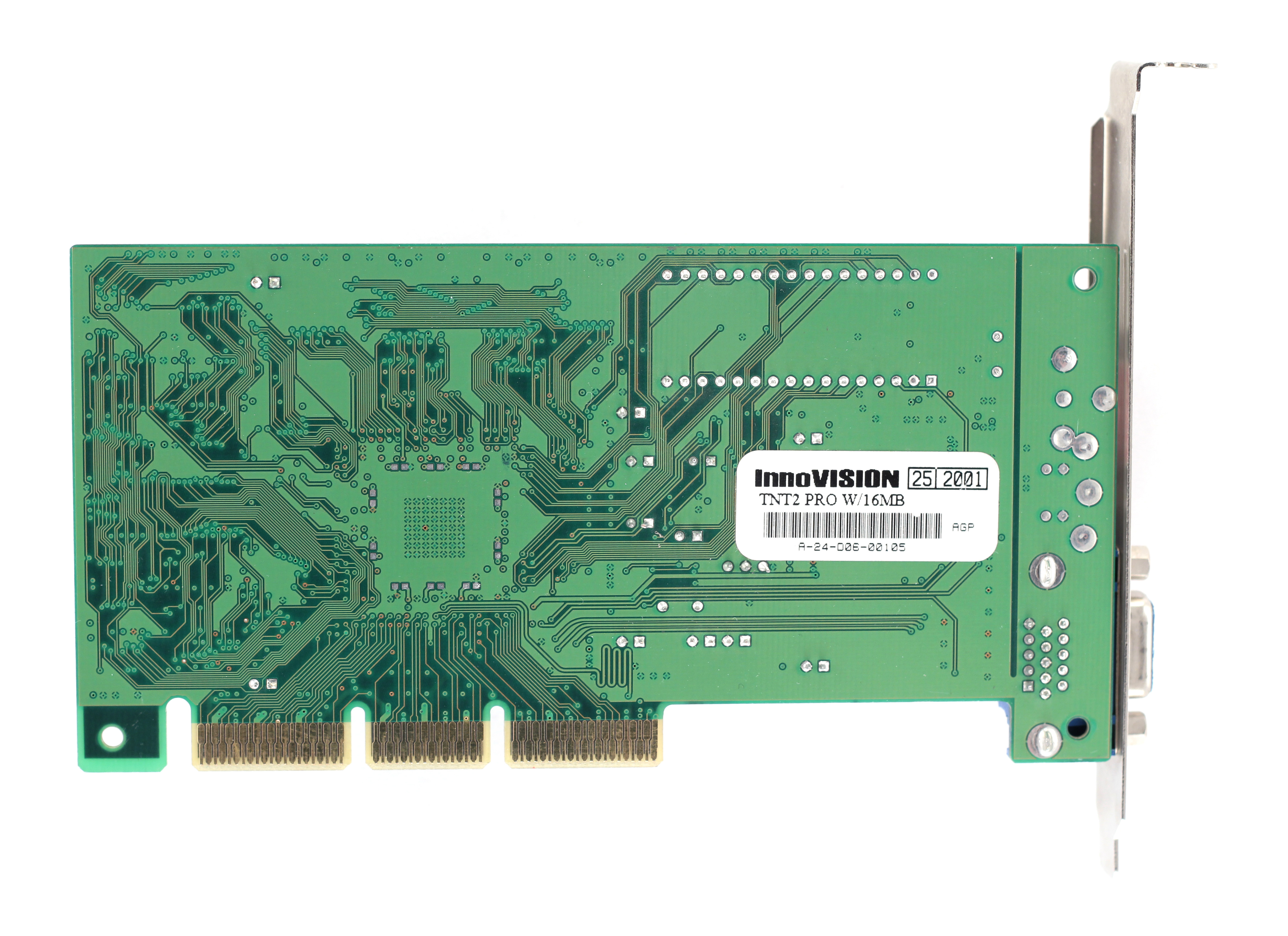 Videocard virtual museum Diamond Viper V330 PCI (nVidia