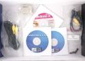 XGI Volari V8 Duo Ultra Club3D box content