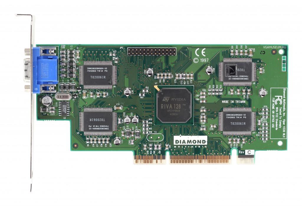 Videocard virtual museum » Diamond Viper V330 AGP (nVidia