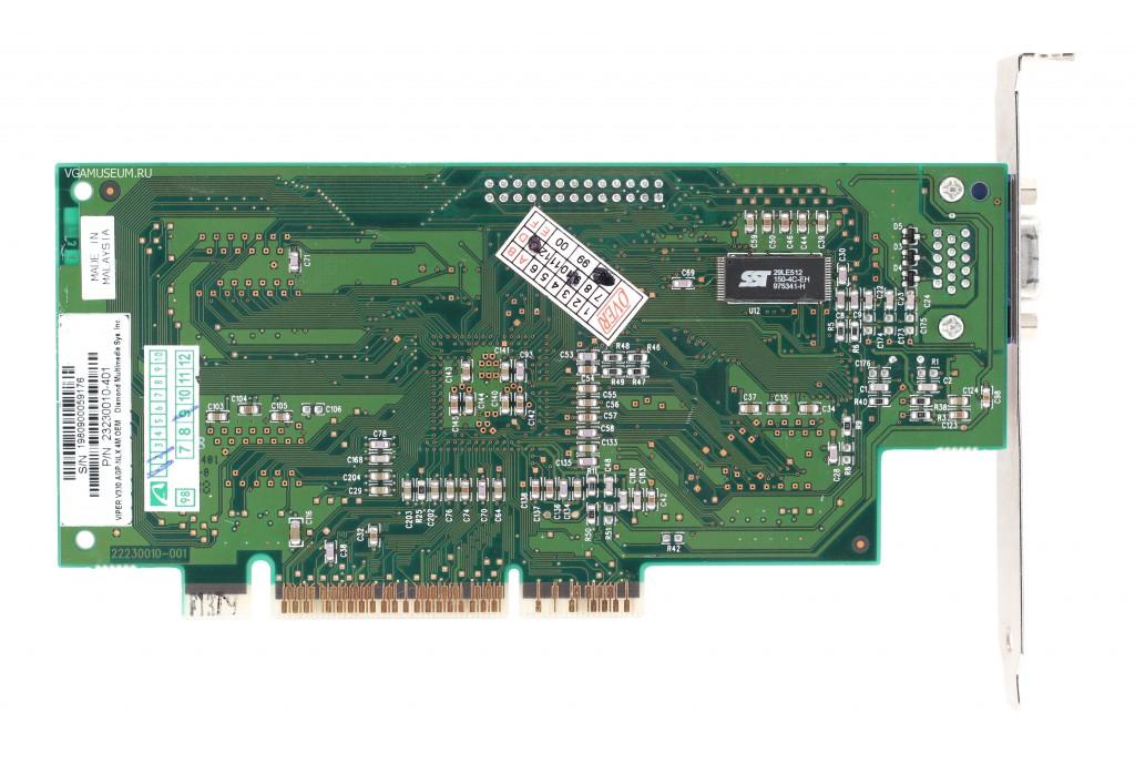 Videocard virtual museum Diamond Viper V330 AGP (nVidia